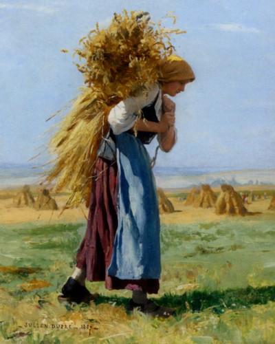 Dupre_Julien_In_The_Fields_1887_Oil_on_Canvas-huge