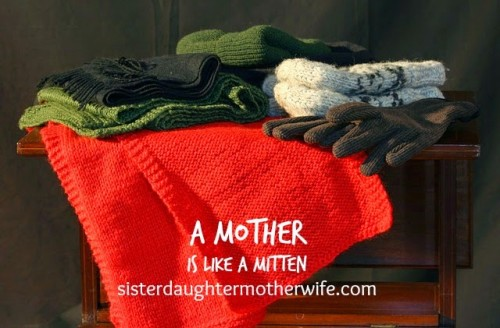 motherhood mother like a mitten